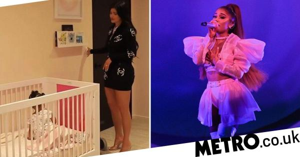 Ariana Grande wants to sample Kylie Jenner singing to Stormi
