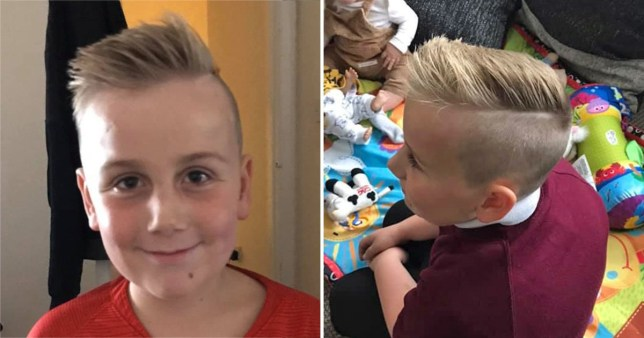 Mum's anger as both sons are banned from playground because of haircuts