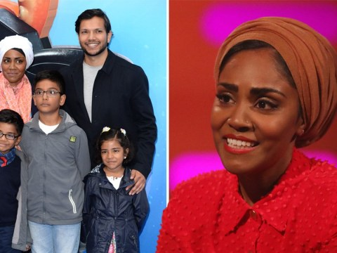 Nadiya Hussain's son serves some brutal home truths about her new book
