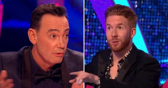 Neil Jones hits back at Craig Revel Horwood