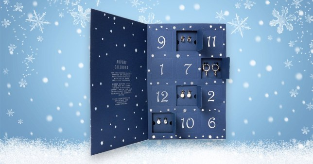 Marks & Spencer launches jewellery-filled advent calendar for £19.50