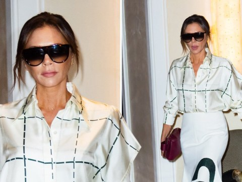 Victoria Beckham is braver than all of us as she goes all white in New York