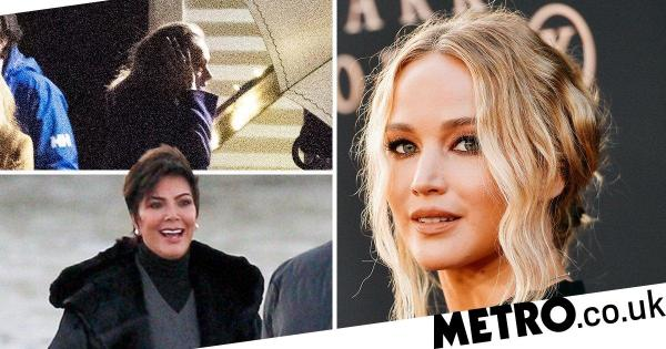 Adele, Kris Jenner and more arrive ahead of Jennifer Lawrence