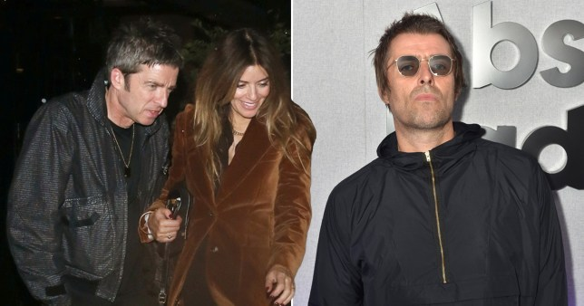 Noel Gallagher puts Liam feud to back of his mind on date with wife