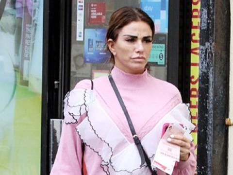 Katie Price hopes for a lucky Euromillions lottery win as she faces bankruptcy