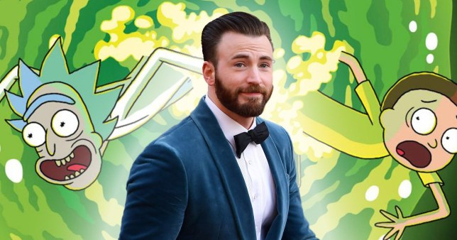 Chris Evans Rick and Morty