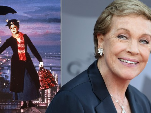 Julie Andrews reveals Mary Poppins flying scene almost went horribly wrong