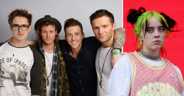 McFly looking to Billie Eilish for green gig inspiration on UK tour