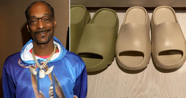 Snoop Dogg has had enough of Kanye West's new Yeezy slides for kids and compares them to 'jail slippers'