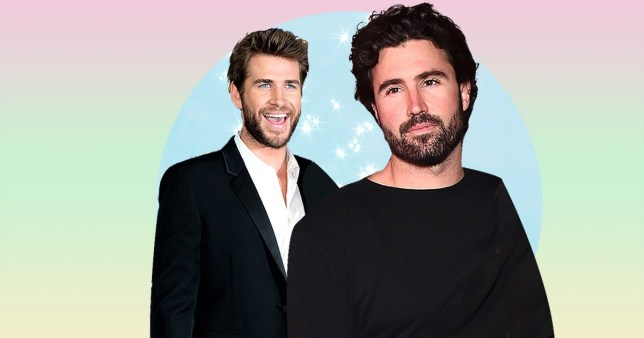 Liam Hemsworth and Brody Jenner