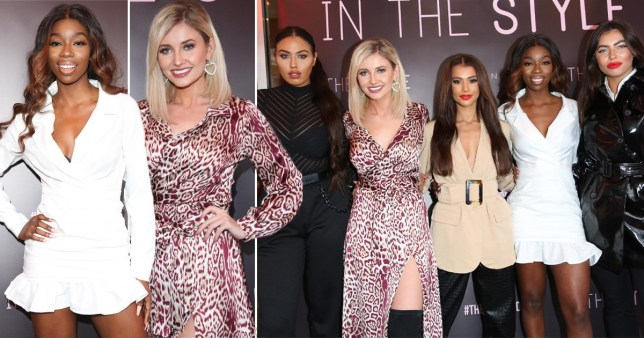 Love Island's Amy Hart, Anna Vakili and Yewande Biala are ultimate squad goals at fashion launch