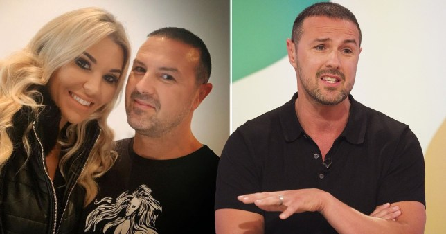 Paddy McGuinness sheepish as wife Christine reveals he's lost wedding ring for second time