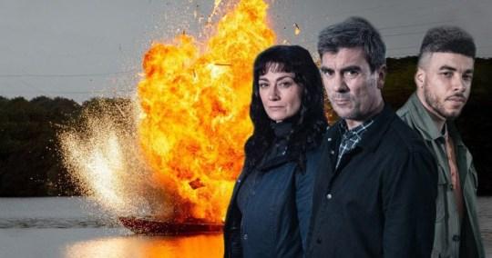 Emmerdale spoilers: Behind the scenes video takes closer look at explosion and underwater stunt