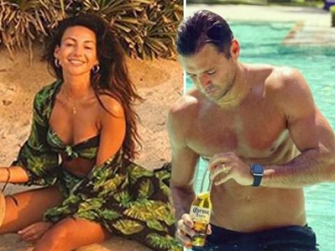 Michelle Keegan and Mark Wright enjoy romantic Dubai getaway as Towie star dubs himself 'superhero'
