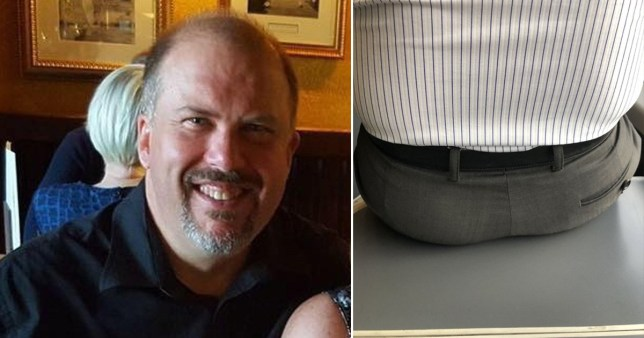 Commuter's fury at passenger who plonked backside on table inches from his face