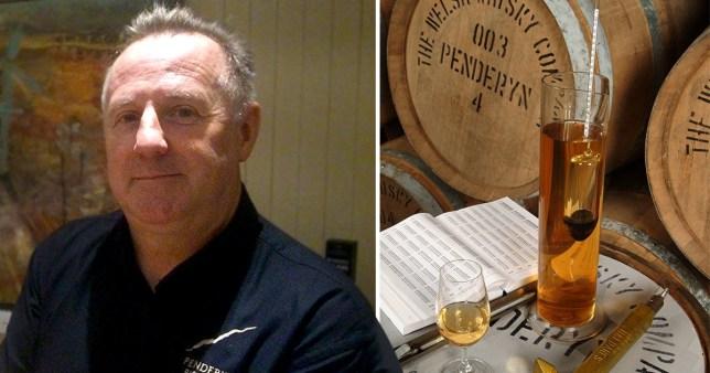 Stephen Davies, CEO of Welsh whisky brand Penderyn