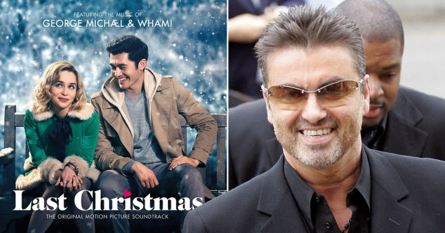Last Christmas poster and George Michael