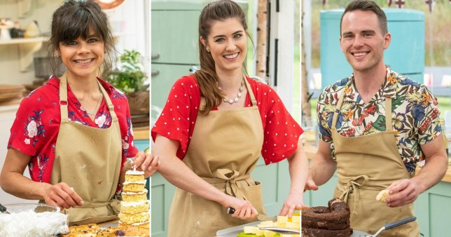 Great British Bake Off finalists