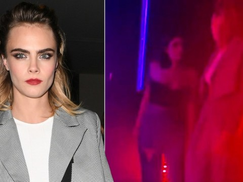 'Loved up' Cara Delevingne only has eyes for Ashley Benson as she launches Nasty Gal collaboration