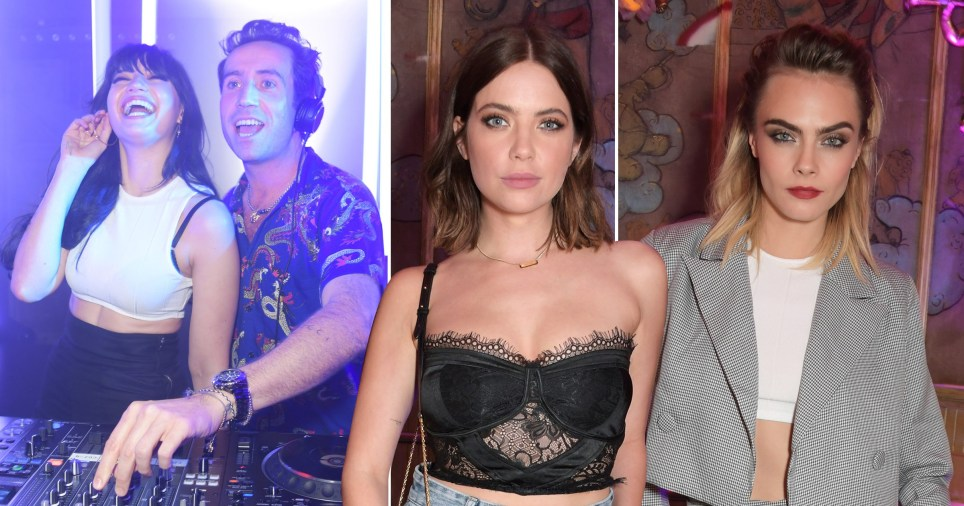 From Nick Grimshaw DJing to loved-up PDA: Inside Cara Delevingne's raucous Nasty Gal party at The Box