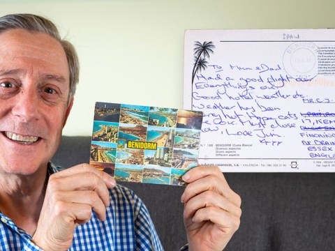 Man who sent a postcard to his parents to let them know he's safe receives it 28 years later
