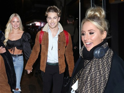 Strictly's AJ Pritchard loved-up with girlfriend as Saffron Barker goes solo after It Takes Two