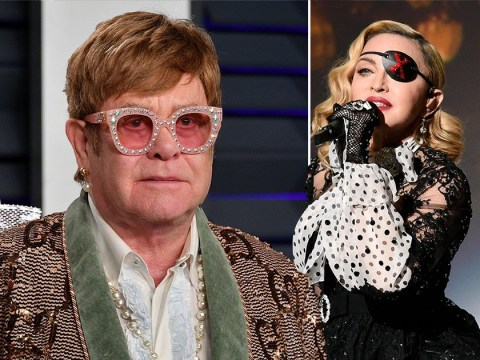 Elton John reignites feud with Madonna after calling her 'nasty' for her comments about Lady Gaga