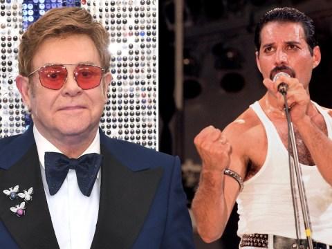 Elton John's sweet surprise for Freddie Mercury's best friends just weeks after Queen star's death