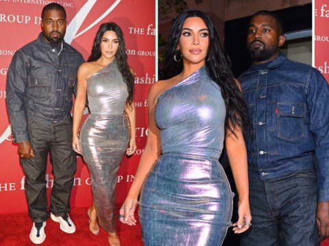 Kanye West parties with Kim Kardashian at gala as Jesus Is King album release pushed back