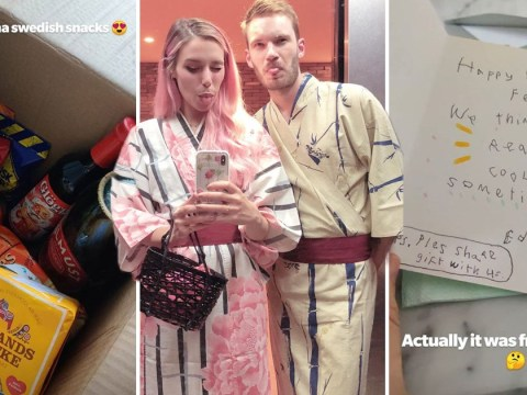 PewDiePie shows off sweet 30th birthday presents from wife Marzia Kjellberg