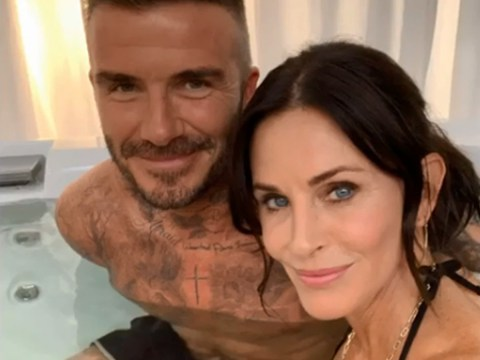David Beckham and Courteney Cox film steamy Modern Family cameo and we need this episode ASAP