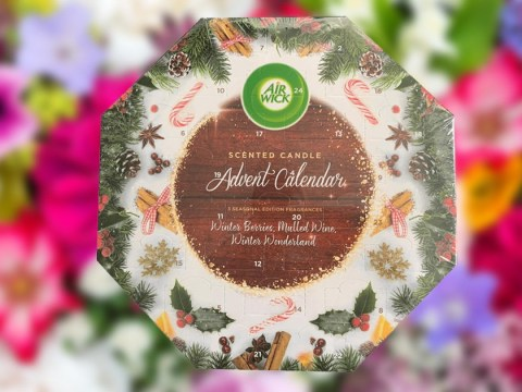 Poundland is selling a scented candle advent calendar for just £1