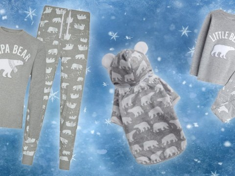 Primark is selling matching festive PJs for the whole family – including the dog