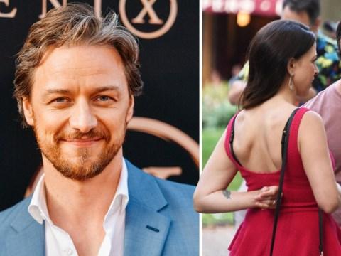 X-Men's James McAvoy 'secretly marries' girlfriend of two years Lisa Liberati