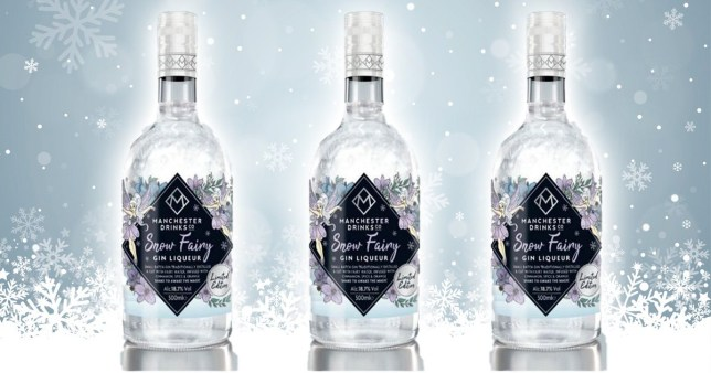 Home Bargains is selling a glittery snow fairy gin