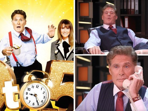 David Hasselhoff shimmies into cast of Dolly Parton's hit musical 9 To 5