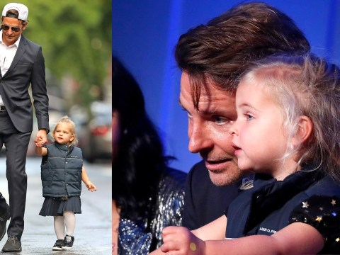 Bradley Cooper takes adorable daughter Lea, 2, as his date to gala following Irina Shayk split