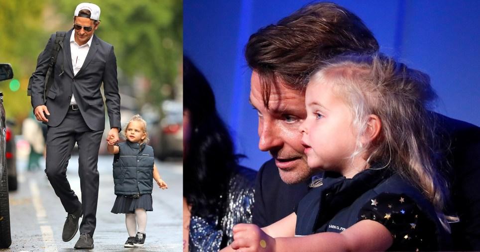 Bradley cooper and daughter Lea De Seine