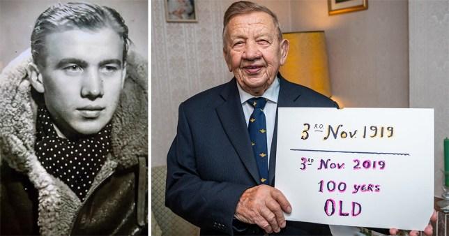 John will be turning 100 next week