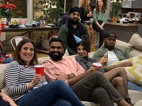 Former Bake Off stars Ruby Bhogal, Selasi Gbormittah and Antony Amourdoux reunite to cheer on finalists in viewing party