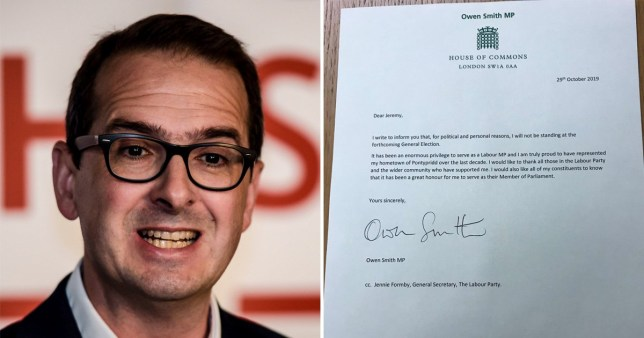 Labour MP Owen Smith quits