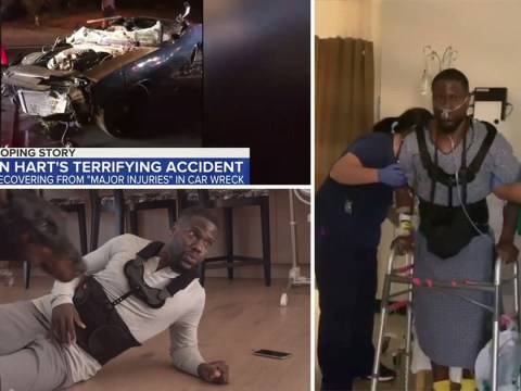 Kevin Hart shares tearjerking video on his recovery from the near-fatal car crash that 'changed his world forever'