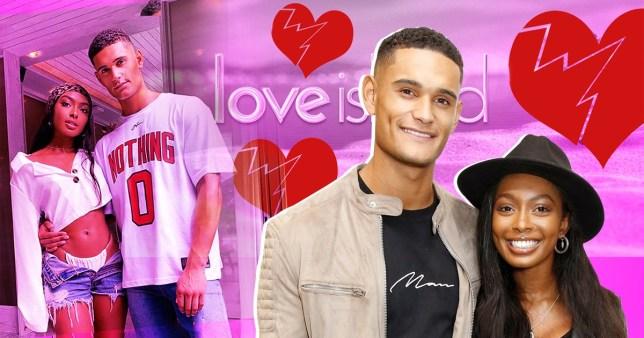 Love Island's Jourdan Riane and Danny Williams