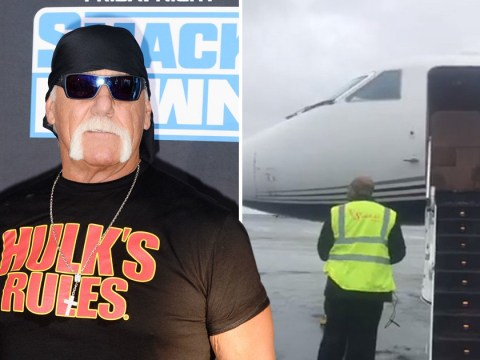 Hulk Hogan involved in terrifying plane incident after 'brakes melted' and 'tyres blew out' in Iceland