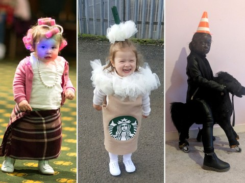 Mum creates amazing homemade Halloween costumes for little girl