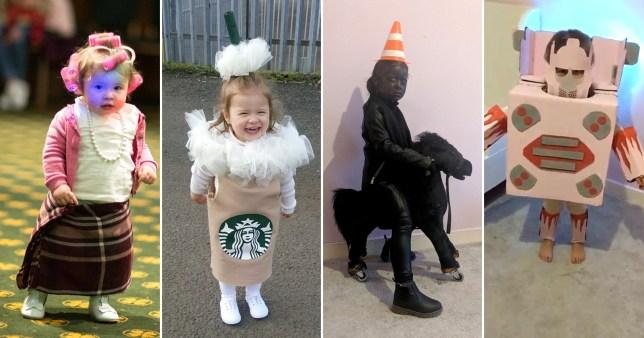 Mum Creates Amazing Homemade Halloween Costumes For Little Girl