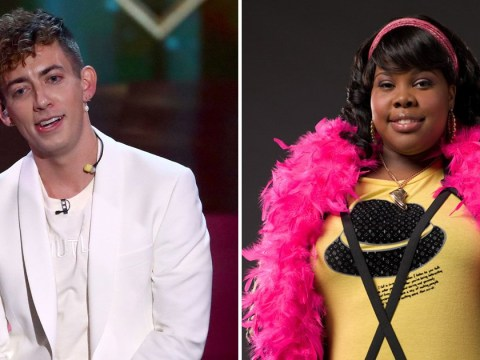 Glee star Amber Riley was 'mad' at Kevin McHale after she found out about X Factor Celebrity on Twitter