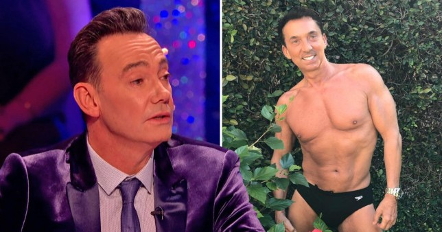 Craig Revel Horwood tells Bruno Tonioli to cover up as he slams shirtless selfies