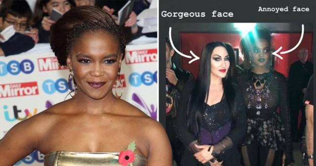 Oti Mabuse and Michelle Visage