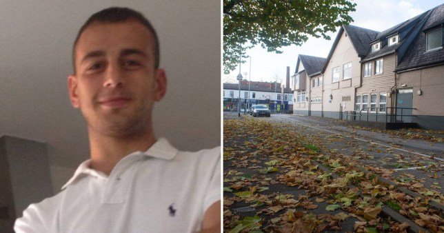 Man filmed 'trying to have sex with a pile of leaves' jailed for eight weeks